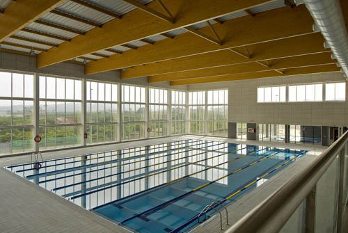 piscina municipal en carcaixent d de obra