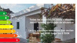 Certificado de eficiencia energetica en Manises